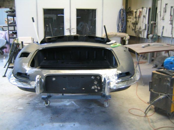3.8 Ross rear metal finished
