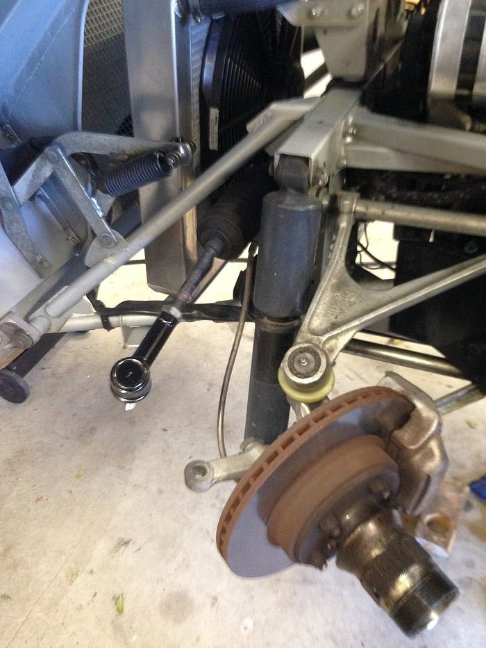 Rob steering rack